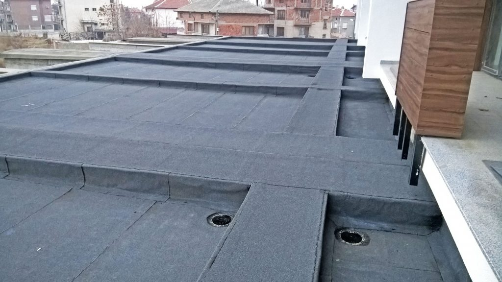 Хидроизолация на плосък покрив